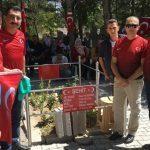 Şehid Ömer Halisdemir Kabir Ziyareti