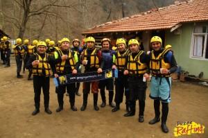 Gezgin Gurmelerden Rafting